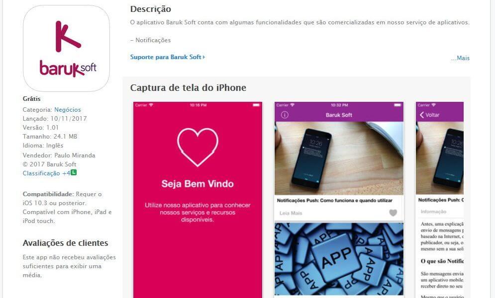 Baruk Soft na App Store