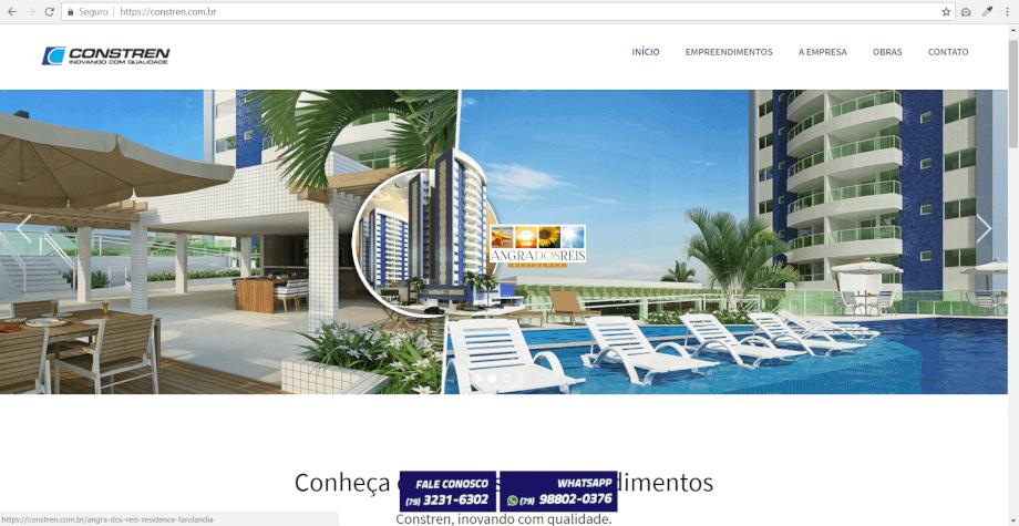 site da constren instalação https