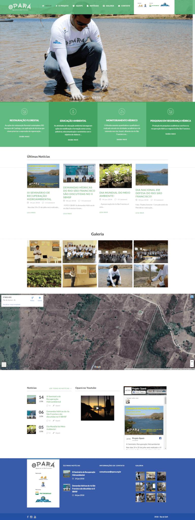 Site do projeto Opará