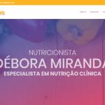 site para nutricionista