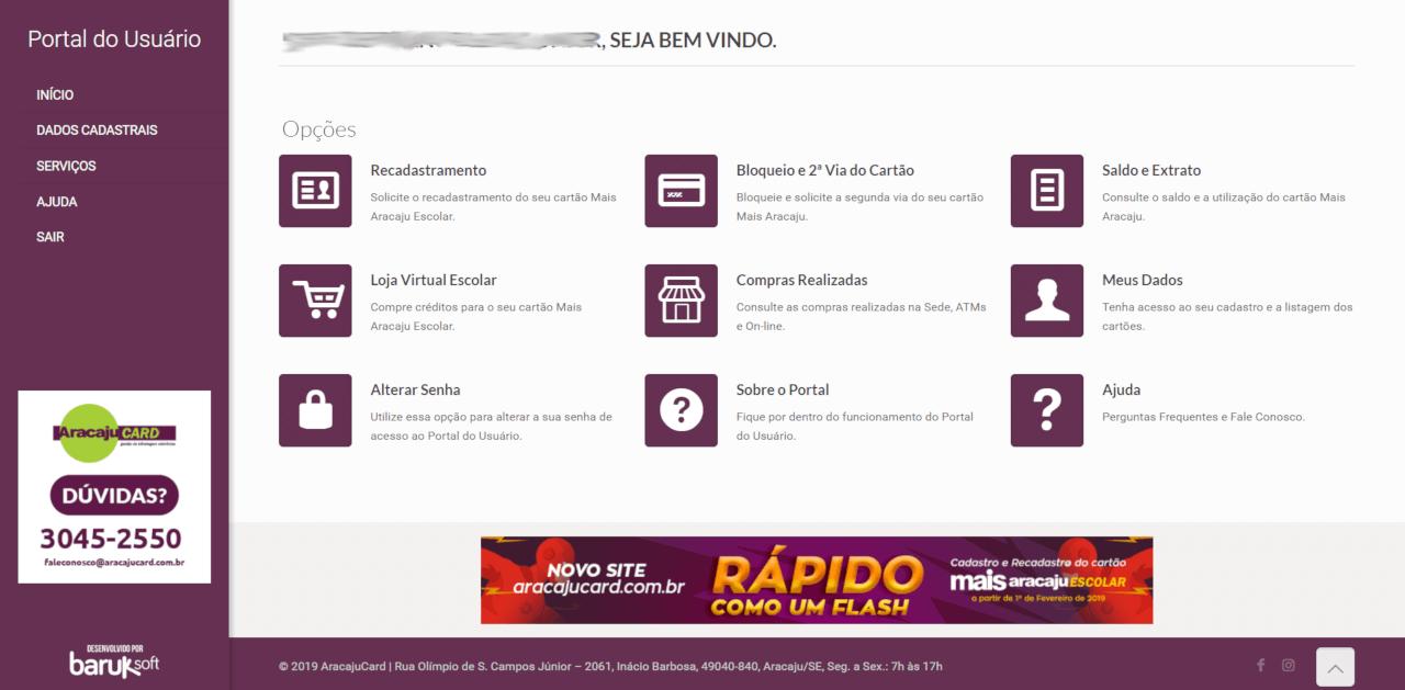 Plataforma de Recadastramento 100% online – Portal do Usuário