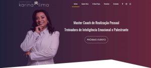 Site da Master Coach Karina Lima