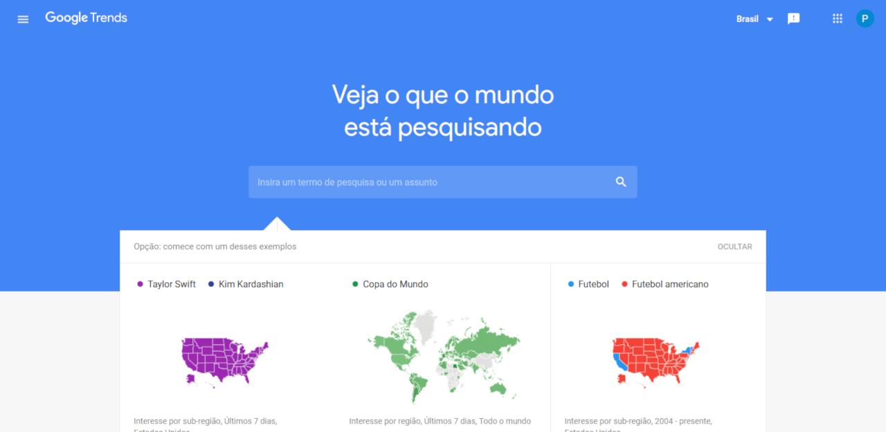 Como saber o que as pessoas estão procurando saber no Google?
