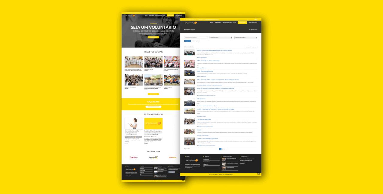 Solidários SE: um site para quem quer ajudar a quem precisa com segurança e credibilidade
