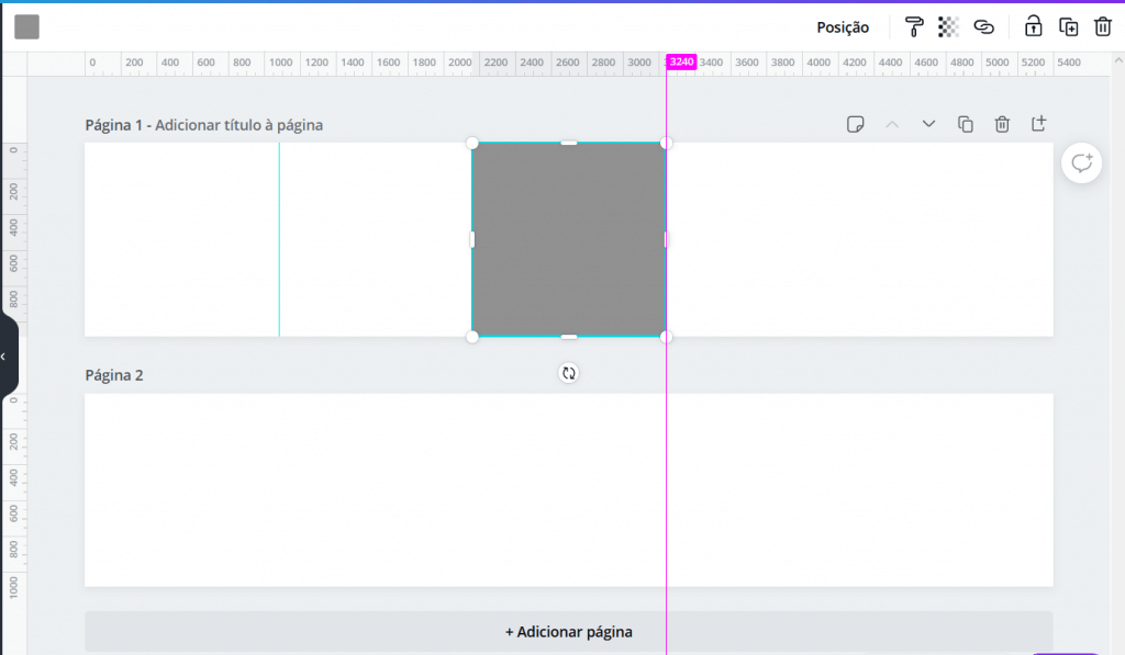 usando um elemento quadrado 1080x1080 para criar as 4 divisões formando 5 itens do carrossel - para ajudar a carrossel