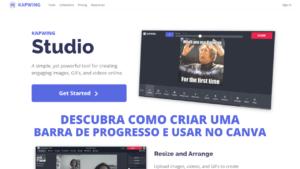DESCUBRA COMO CRIAR UMA BARRA DE PROGRESSO E USAR NO CANVA CAPA