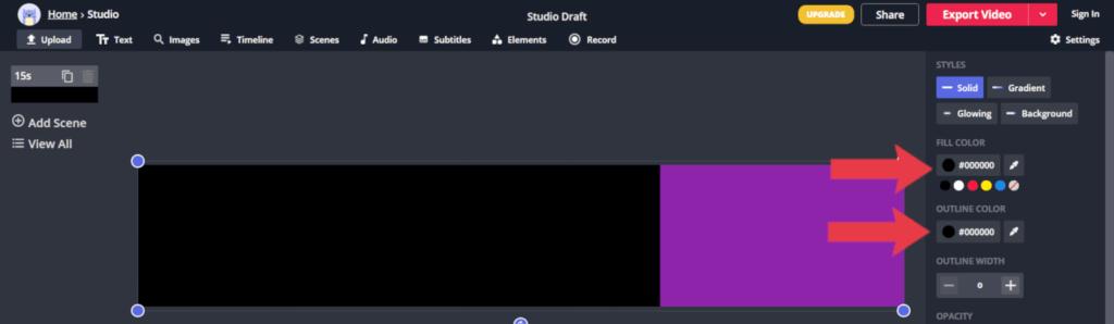 alterando as cores da barra de progresso