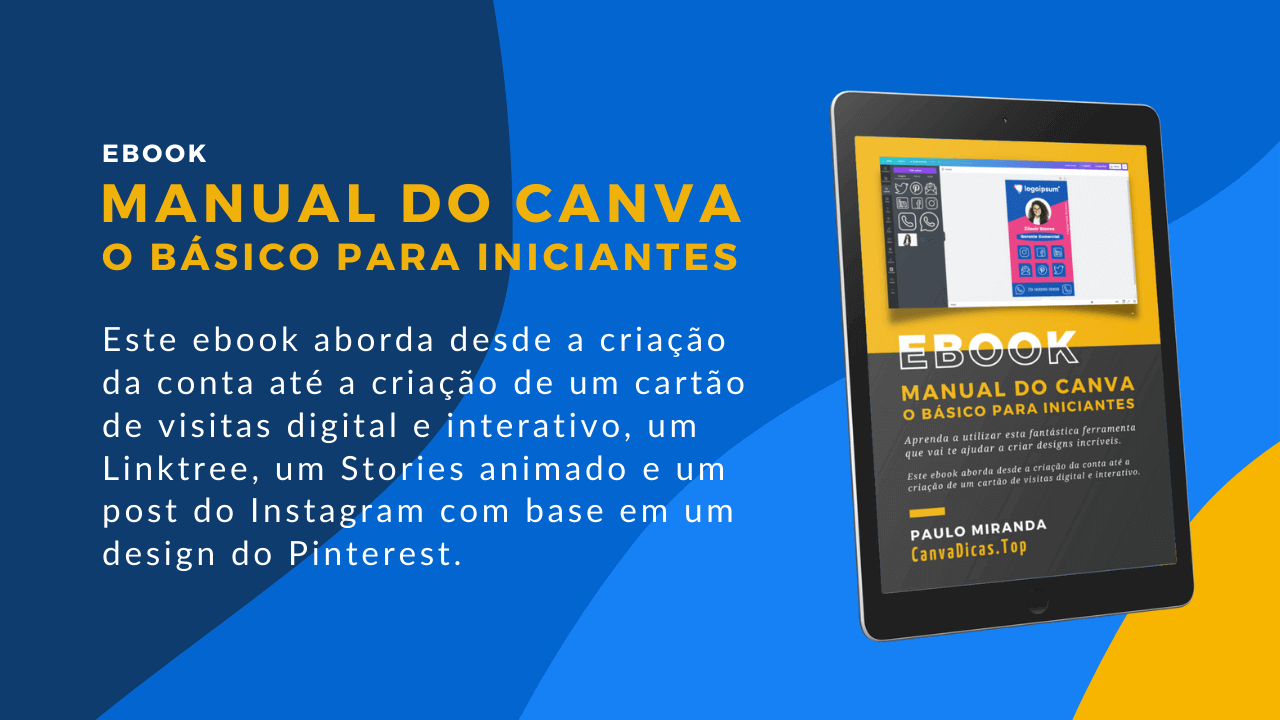 Read more about the article Ebook Manual do Canva em PDF