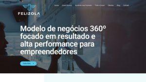 criacao do site felizola group baruk soft portfolio capa