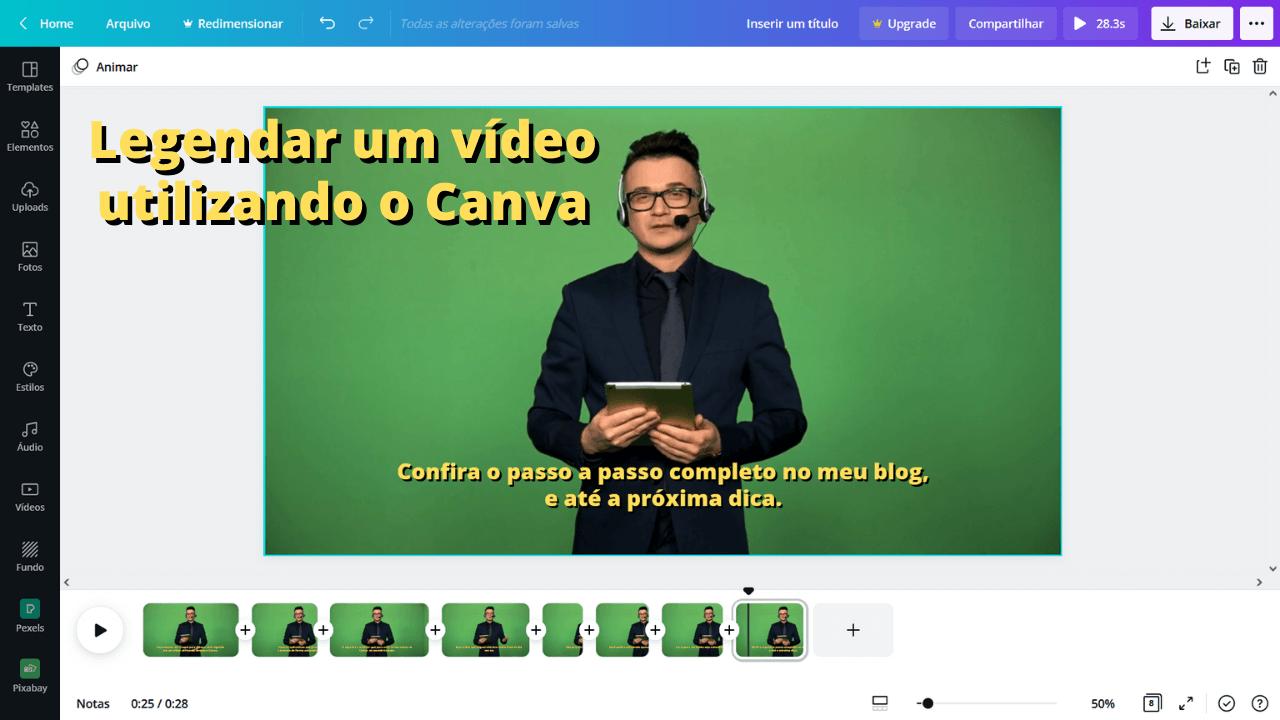 Read more about the article Como legendar um vídeo usando o Canva – Modo Fácil
